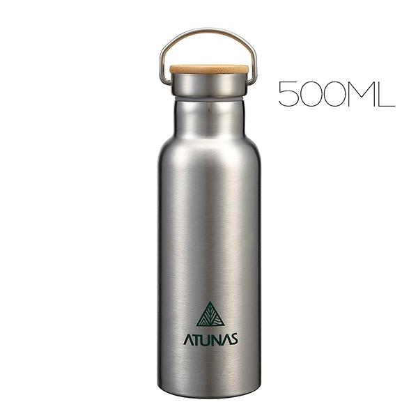 ATUNAS不鏽鋼運動真空保溫瓶500ml(歐都納/保冰杯/304真空保溫壺/環保無毒)