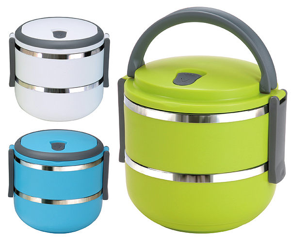 便當盒 不鏽鋼餐盒 1.4L 【創意巴巴】日式 和風 層餐 餐盒 大容量