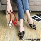 FINDSENSE品牌 四季款 新款 日本 女 高品質 個性  氣質 單鞋 小皮