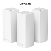 Linksys Velop AC6600 WiFi 三頻 網狀路由器 3入組 WHW0303-AH 支援MU-MIMO技術 有線Gigabit乙太網路連接埠*2
