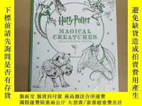 二手書博民逛書店Harry罕見Potter Magical Creatures