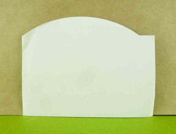 【震撼精品百貨】Hello Kitty 凱蒂貓~造型卡片-藍雨天