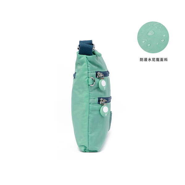 金安德森 迷霧森林 輕巧休閒小款側背包 綠色