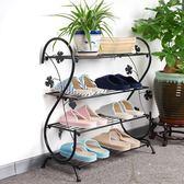 鞋架 鞋架多層簡易經濟型多功能現代簡約宿舍省空間家用迷你小鞋架 芭蕾朵朵IGO