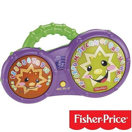 【奇買親子購物網-每日一好物限量出清價不接受退換貨】費雪Fisher-Price寶寶音樂洗澡鼓