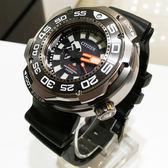 [萬年鐘錶] CITIZEN  Eco Drive 光動能 限量 Promaster 專業 混和氣 千米潛水錶 鈦金屬 黑色錶面 BN7020-09E
