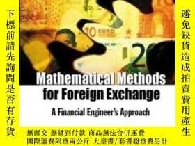 二手書博民逛書店Mathematical罕見Methods For Foreign Exchange-外匯數學方法Y43663