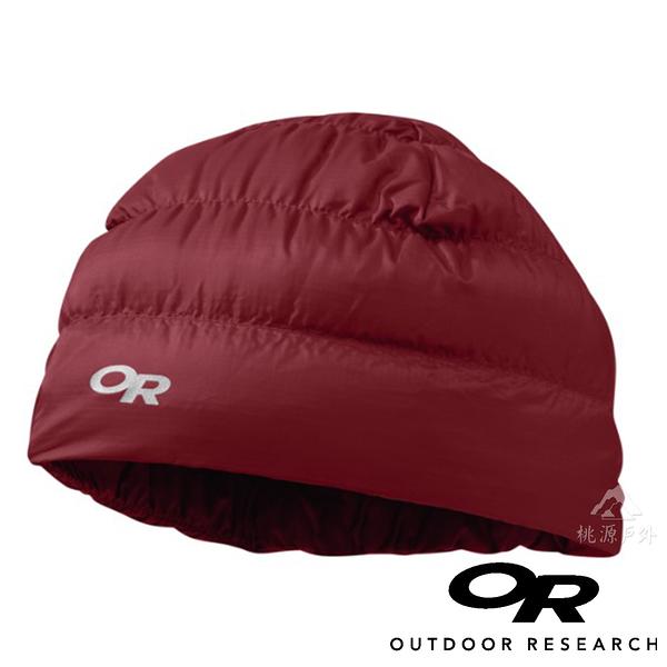 【OR 美國】Outdoor Research Transcendent 輕量透氣保暖羽毛帽『紅』243485保暖帽.帽子