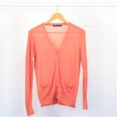 【INI】完美隨搭、清新柔感開襟外套.橙色