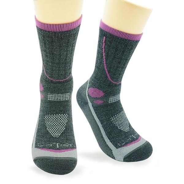Lorpen T3 女 Primaloft美麗諾羊毛襪T3MWH(III) / 城市綠洲 (保暖襪、健行襪、吸濕排汗)