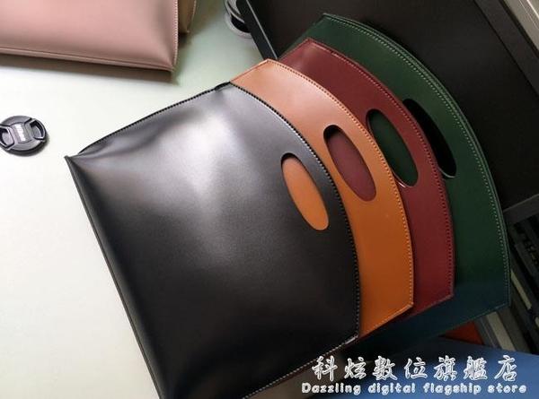 韓國新款女包手提包時尚簡約手拿包OL氣質通勤包文件包女式公文包 科炫數位
