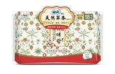 蘇菲 天然草本衛生棉 日用25cm 18片