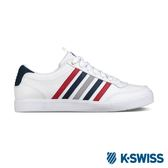 K-Swiss Court Lite CMF休閒運動鞋-男-白/藍/紅