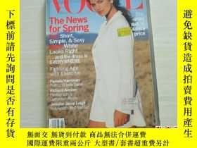 二手書博民逛書店VOGUE罕見FEBRUARY 1994 [573]Y10970