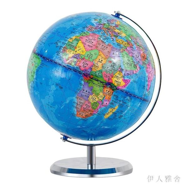 帶燈地球儀磁懸浮20cm學生用課桌擺件家居擺設兒童禮物 DJ5388『伊人雅舍』