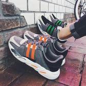 新款男士時尚百搭休閒鞋旅游鞋學生低幫運動鞋潮流男鞋子