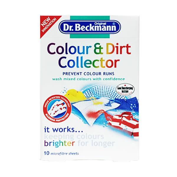 德國 Dr Beckmann 衣物護色防染 拋棄式去汙清潔布 / 每盒10入 (Color & Dirt Collector)
