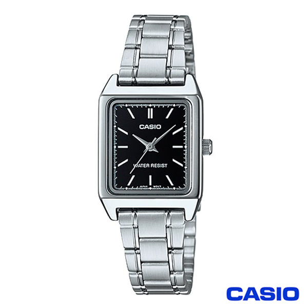 CASIO卡西歐 經典優雅方型石英腕錶 LTP-V007D-1E