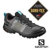 【SALOMON 法國】女 OUT PRO GTX登山健行鞋『白/黑/藍鳥』409616 越野鞋.健行鞋.GORE-TEX