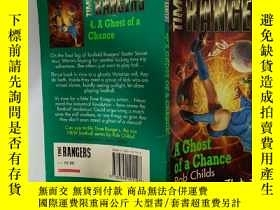 二手書博民逛書店A罕見Ghost of a Chance:偶然的機會Y200392