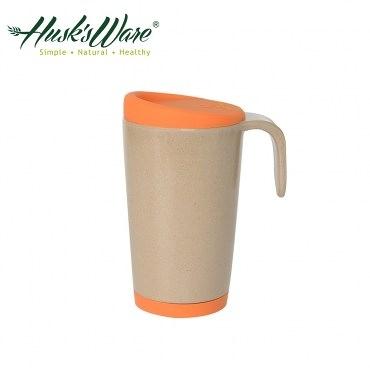 美國Husk's ware 稻殼天然無毒環保創意馬克杯(熱帶橙)