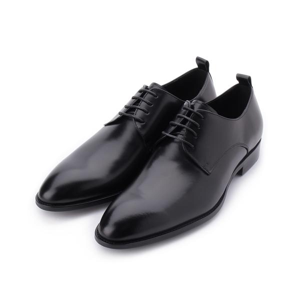 【Meurieio Belliei 真皮素面德比紳士皮鞋 黑 PE362703 男鞋 鞋全家福】