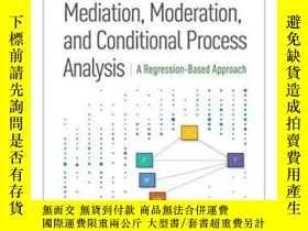 二手書博民逛書店Introduction罕見To Mediation, Moderation, And Conditional P