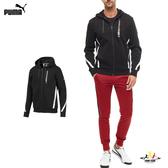 Puma Hooded 男 黑 外套 連帽外套 運動 休閒 雙口袋拉鍊 夾克 棉質 保暖 外套 59518901