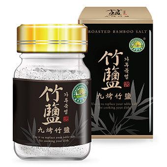 綠源寶~九烤竹鹽60公克/罐