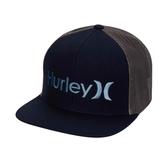 Hurley M OAO GRADIENT HAT OBSIDIAN/(THUNDERSTORM) 棒球帽-(黑)