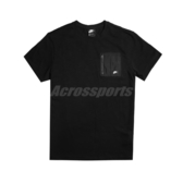 Nike 短袖T恤 NSW Top 黑 白 男款 短T 口袋T 運動休閒 【ACS】 CJ4324-010
