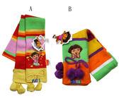 【卡漫城】 Dora 兒童 圍巾 2款可選 ㊣版 朵拉 彩虹款 ~ 11cm x 140cm ~ 2 9 9元 /款