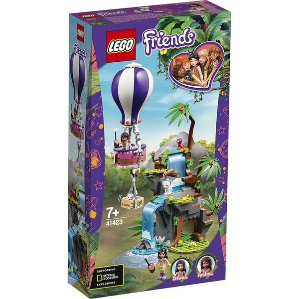 LEGO 樂高  41423 Tiger Hot Air Balloon Jungle