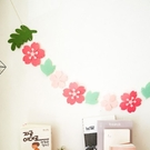 [拉拉百貨]櫻花串旗 會場佈置 派對 裝飾 露營 生日