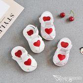 軟底學步鞋嬰兒包頭涼鞋 E家人