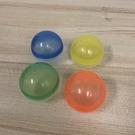 『顏色隨機』扭蛋殼扭蛋機用圓形透明彩色空殼抽獎彩蛋玩具(6公分/ @777-9422)