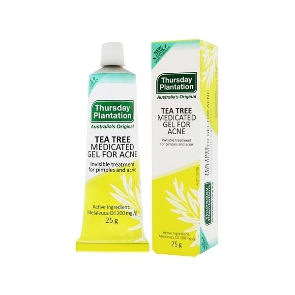 澳洲 Thursday Plantation 星期四農莊 茶樹修護凝膠 25g 抗痘凝膠