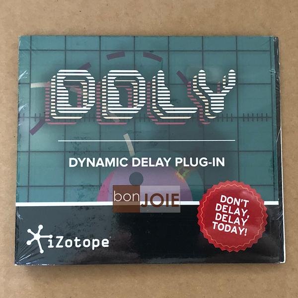::bonJOIE:: 美國進口 iZotope DDLY Dynamic Delay Plug-in 延遲效果器 下載版 (全新封裝) 軟體授權
