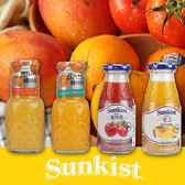 韓國 SUNKIST 果汁 180ml 芒果汁/番茄汁/柳橙汁/濟州島橘子汁