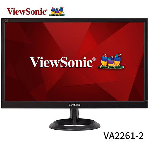 ViewSonic 優派 VA2261-2 22型 液晶 螢幕 顯示器