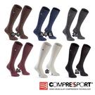 【Compressport瑞士】CARE 保暖羊毛長襪 止汗 護具 機能腿套 路跑腿套 原價NT.800元