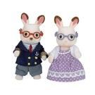 《森林家族-日版》可可兔爺爺奶奶組 / JOYBUS玩具百貨