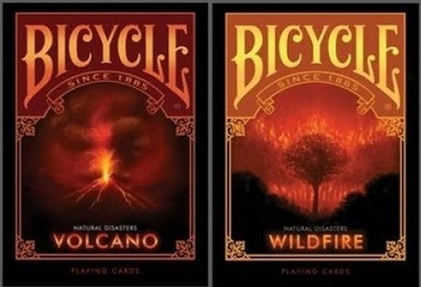【USPCC 撲克】BICYCLE ND volcano PLAYING CARDS natural disasters
