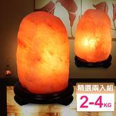 【鹽夢工場】玫瑰鹽燈兩入組(玫瑰2-4kgX2)