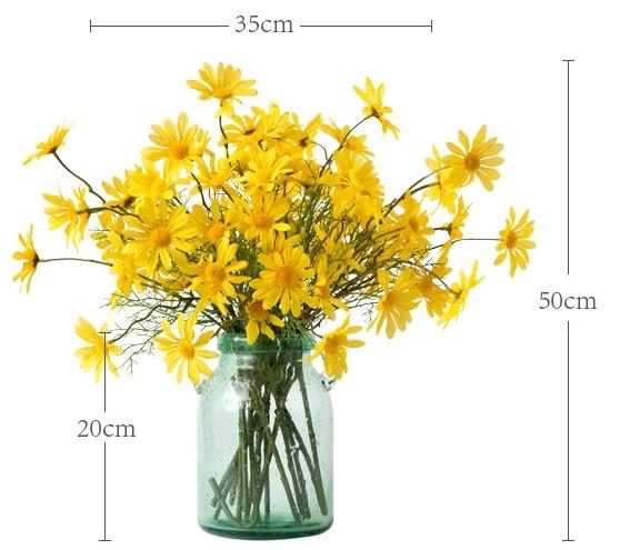 高檔模擬花成品 客廳餐桌擺放絹花套裝  -bri01004
