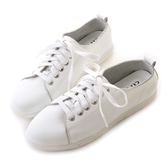 amai超舒適!全牛皮柔軟小白鞋 白