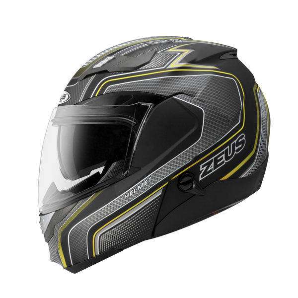 ZEUS 瑞獅安全帽,ZS3100,YY5/消光黑黃