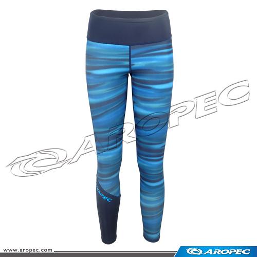 女款萊克防曬游泳戲水/水母長褲   PT-5K53-1W-Lycra-Ripple  【AROPEC】
