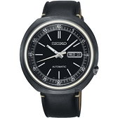 限量80只 SEIKO精工 1969 復刻機械錶-黑/43mm 4R36-06G0SD(SRPC15J1)