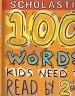 二手書R2YB《SCHOLASTIC 100 WORDS KIDS NEED T